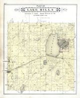 Lake Mills, Jefferson County 1899